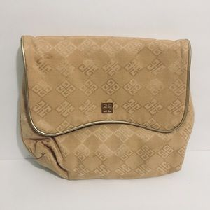 Women's Givenchy Gold Cosmetic Bag One Size